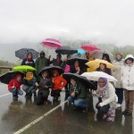 IMG_1359 - Global Awareness France - May 2013 - ASC Backing the Pyrenees in Germ on a Rainy Day